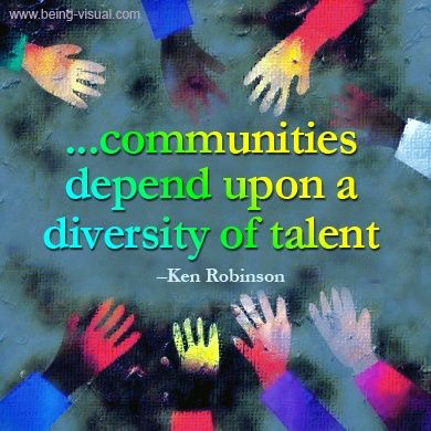 pictures about diversity with quotes | Found on being-visual.com