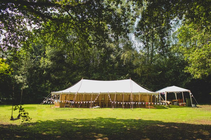 A vintage marquee taken at a Garden Wedding in Shere and Guildford, Surrey – Artington House - photo by tobiah tayo