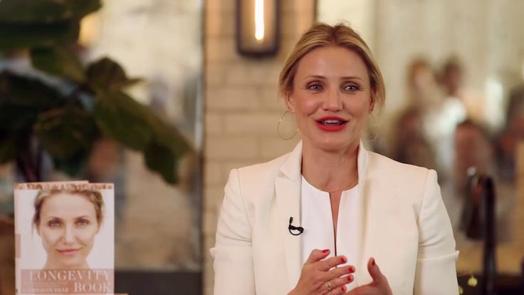 A-list actress and author Cameron Diaz is known for many things—her impeccable figure being one of them. We sat down with her to get the scoop on her workout routine. In her new book, The Longevity Book, she shares how exercise is one of the main pillars of living well. Put your body in motion with this simple workout trick.
