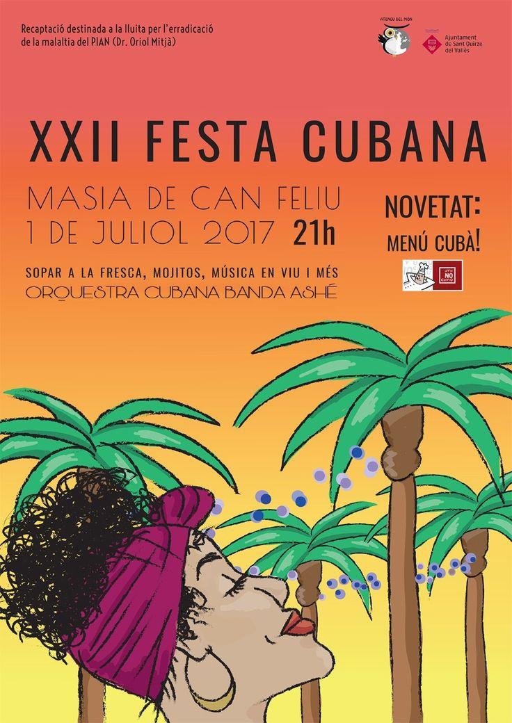 22a Festa Cubana   La Festa Solidària de l'estiu a Sant Quirze del Vallès #SQV #santquirzedelvalles
