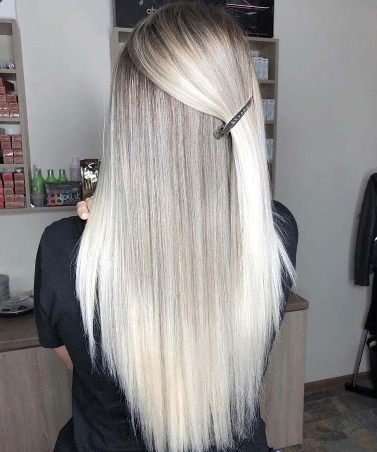 Buy Amazon Amzn To 31bcjok Pearl Blonde Sleek Hairs Must Try In 2019 Blonde Hairs Pearl Sleek Blonde Glatte Haare Glatte Haare Ombre Blonde Haare