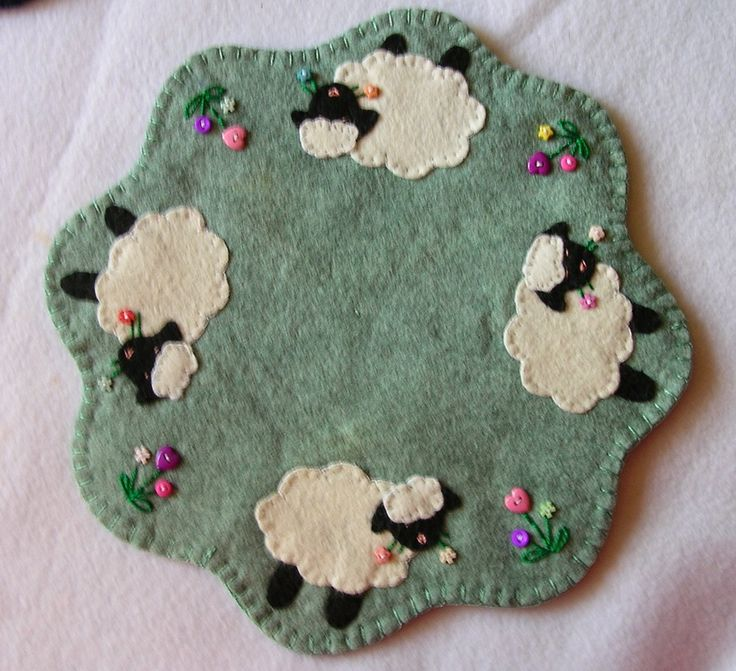 My own design, spring sheep!