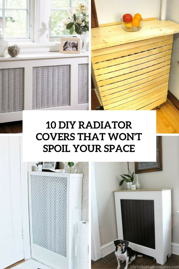 diy radiator cover that won't spoil your space cover