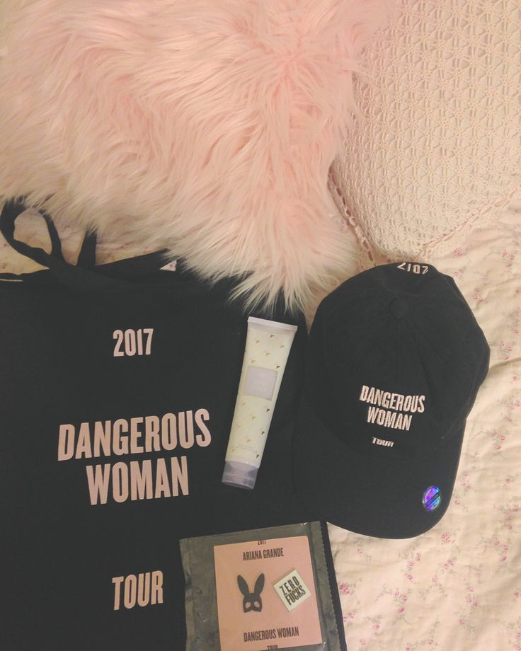 ARIANA GRANDE DANGEROUS WOMAN TOUR DWT VIP MERCH BAG