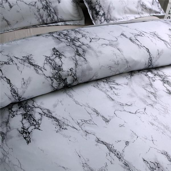 Italtop Marble Pattern Bedding Set In 2020 Patterned Bedding Sets Patterned Bedding Marble Pattern