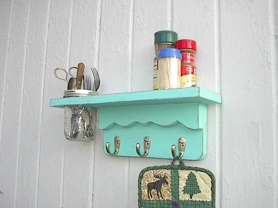 If I had wall space in my bathroom, i'dmake this in a jiffy!
