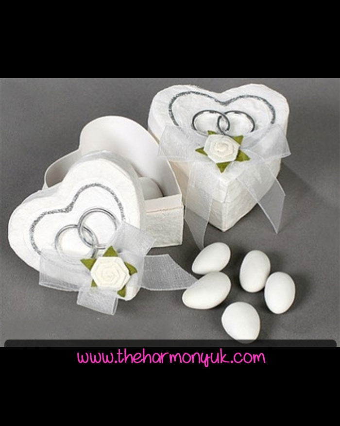 Heart Box Wedding Favour: The Harmony UK