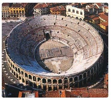 The Arena Di Verona, built in the first century AD, is one of the best conserved Roman amphitheaters. It is still used today for Opera performances and modern music concerts. Walking through the ancient corridors you are overwhelmed by the sheer size of the structure. With 44 levels, the arena has a current capacity of about 15,000 patrons. In its prime it had a capacity of 20,000.