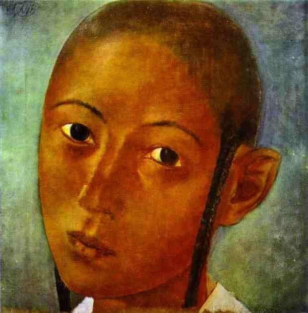 Petrov-Vodkin, Kuzma (1878-1939) - 1921 Uzbek Boy (The Russsian State Museum, St. Petersburg, Russia) by RasMarley, via Flickr
