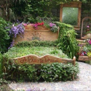 Cozy outdoor bedroom