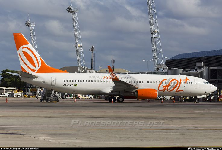 PR-GXT GOL Transportes Aéreos Boeing 737-8EH(WL)