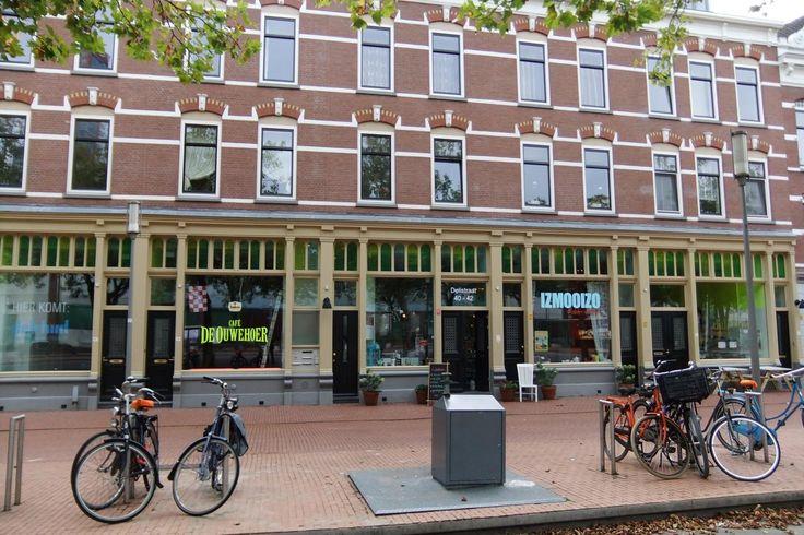 Delistraat, Katendrecht, Rotterdam. Hier had ik graag mijn - art gallery annex advocatenkantoor annex alle goederen in het pand zijn te koop en van jonge designers - willen vestigen.. Jammer dat de gemeente daar anders over dacht...