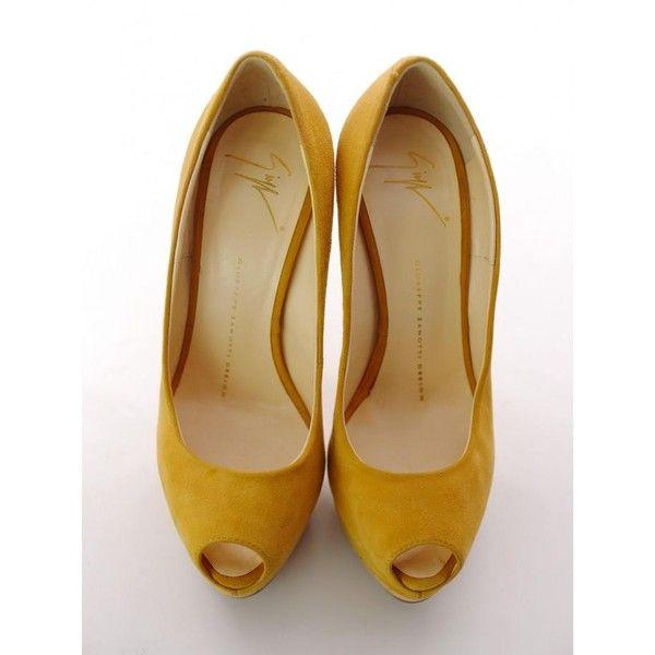 Heels GIUSEPPE ZANOTTI (830 BRL) ❤ liked on Polyvore featuring shoes, pumps, peep toe stilettos, cork pumps, peep toe shoes, platform pumps and peep toe pumps