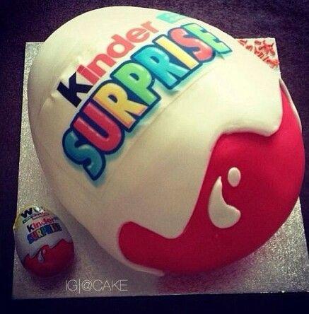 Kinder Überraschungskuchen – birthday cakes