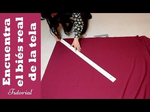 Tips de costura: Encuentra el biés perfecto de la tela