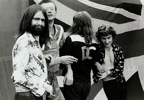 Daddy Cool, Sunbury 1974 © Rennie Ellis