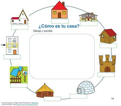 """AUDICIÓN Y LENGUAJE: PROYECTO """"DONDE VIVO"""" (CALLE, CASA, LOCALIDAD, TIPOS DE PUEBLOS Y POBLACIÓN)"""