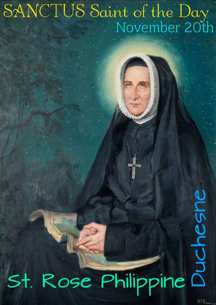 St. Rose Philippine Duchesne - For more information, follow us on our Facebook page at www.facebook.com/SanctusArt