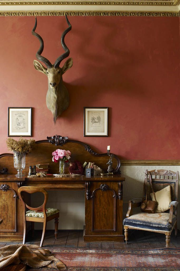 Belmonth House...love this wall color