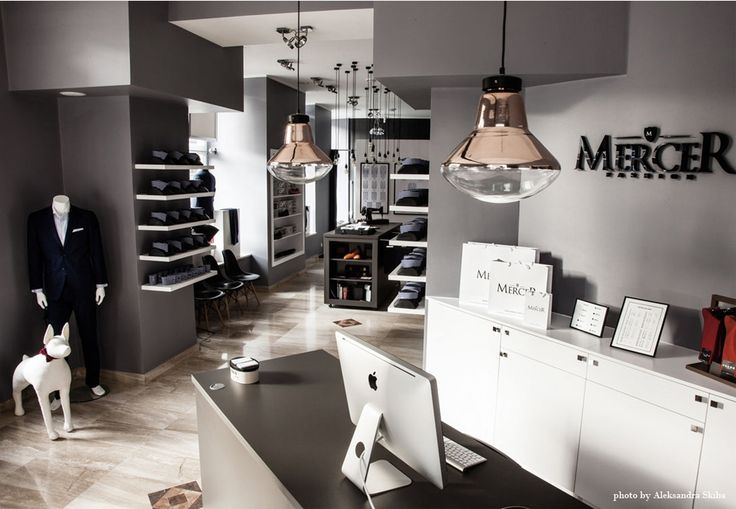 Mercer Fashion Showroom in Warsaw. See full project at: http://370studio.com/mercer/