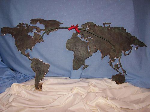 Tug O War (embargo).     A bronze sculpture entered for the summer exhibition . R A.   2009