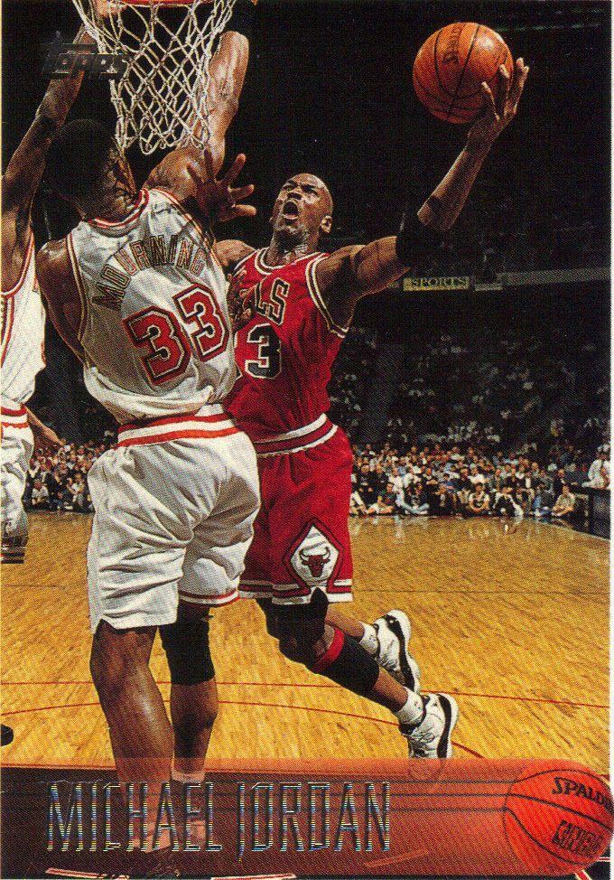 MICHAEL JORDAN# 139 1996-97 TOPPS MINT FROM PACK #BULLS