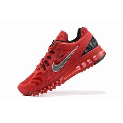 Nike Air Max  2013 Kırmızı Gümüş Erkek Ayakkabı
