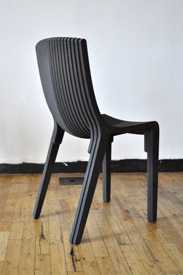 Layer Chair, diseño paramétrico en Lugadero