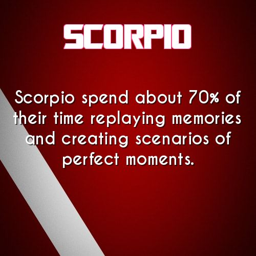 scorpio daily astrology fact