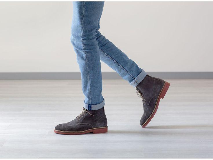 chaussure montante cuir pour homme l 39 instant pose pinterest. Black Bedroom Furniture Sets. Home Design Ideas