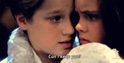 If I say I love you, can I keep you forever? I love 90's movies!