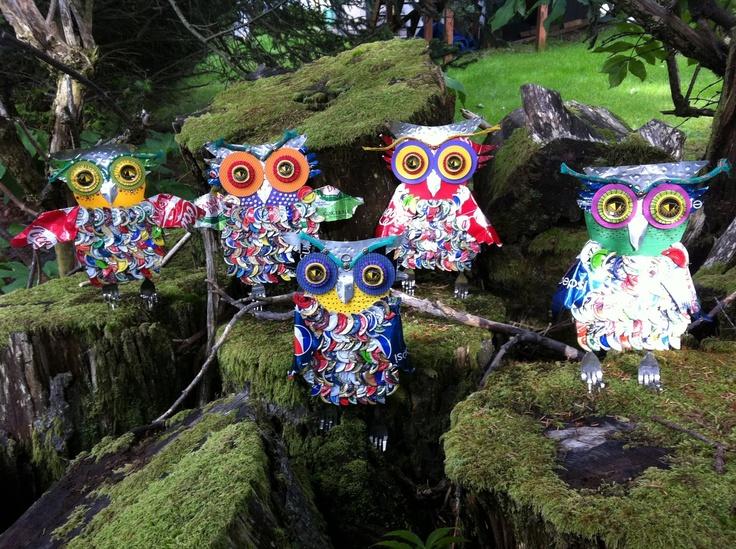 Outdoor Owl Decor