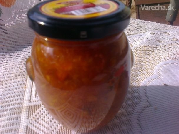 Ananásovo-pamarančovo-mandarinkovo-orieškový džem alebo inak Vianočný džem