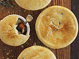 Mushroom Pies with Swiss Chard Recipe