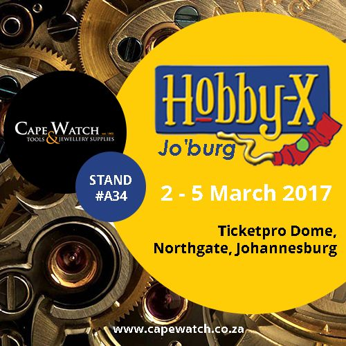 Save the date and join us at the Hobby-X Jo'Burg 2017. We will be at stand #A34 (2 March-5 March!)  https://www.facebook.com/events/1886167821602018/