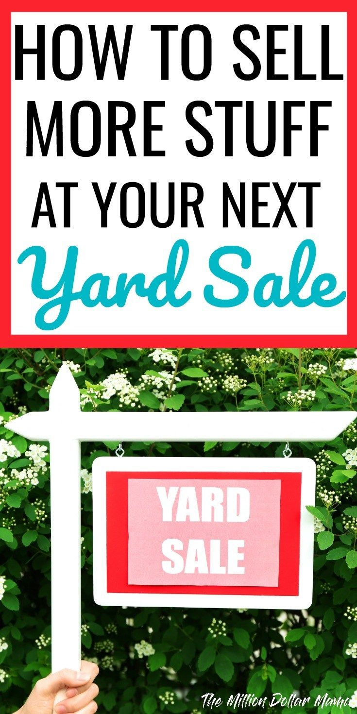 Learn how to host the very best garage sale ever - 10 Garage Sale Tips And Tricks For Maximum Profits