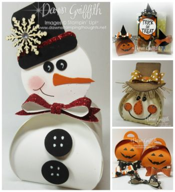 Curvy Keepsake Snowman Box video