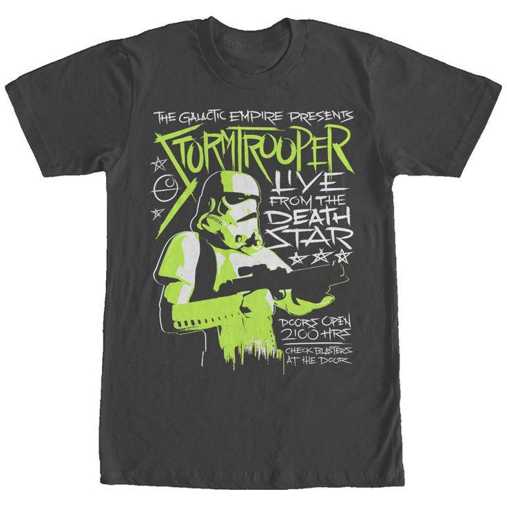 Star Wars Stormtrooper Concert Poster Mens Graphic T Shirt    eBay