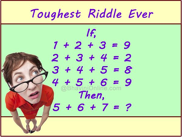 tough riddle sequence