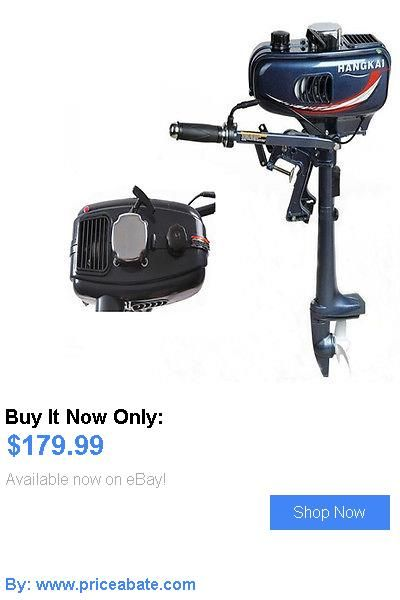 boat parts: Hot 3.5Hp Outboard Motor Boat Engine Updated With 2 Stroke Water Cooled BUY IT NOW ONLY: $179.99 #priceabateboatparts OR #priceabate
