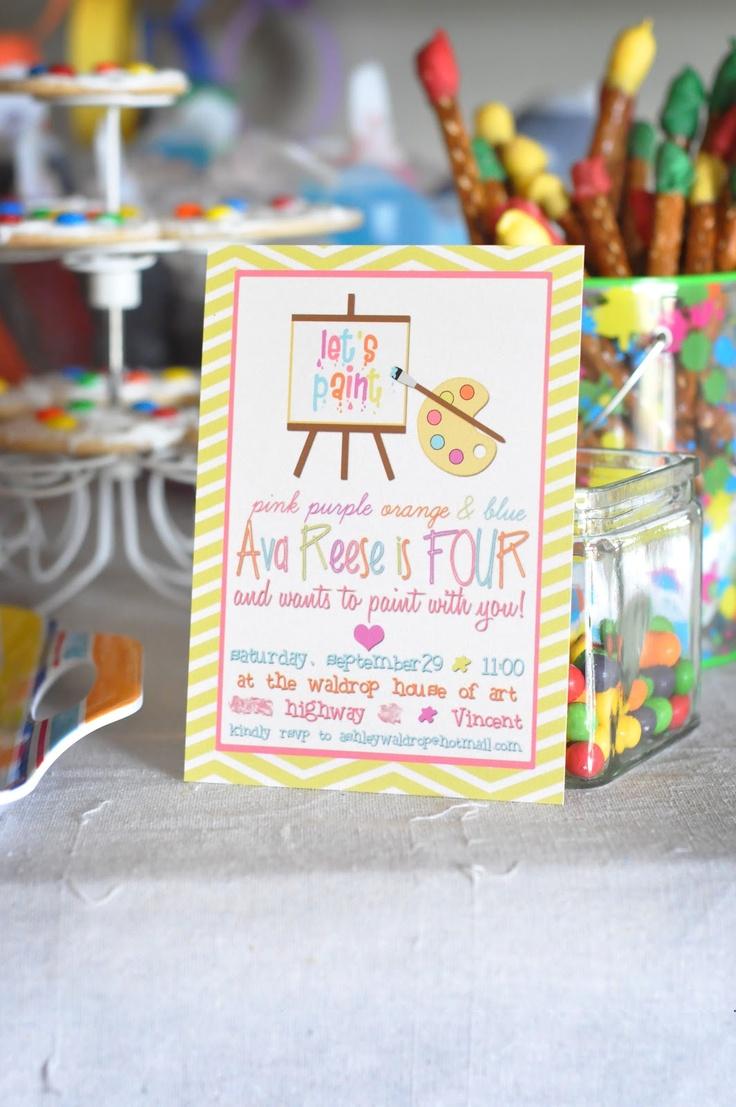 Paint Party Details-