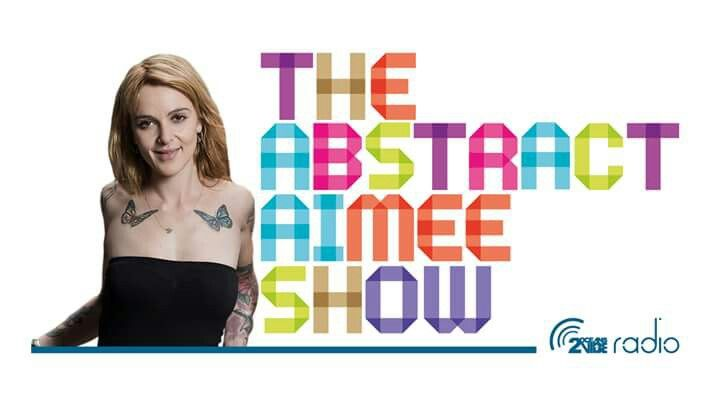 New logo for the Abstract AIMEE Show on www.2oceansviberadio.com.  tune in every Friday 3pm folks!