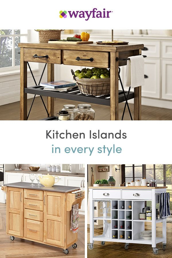 Sign up for access to exclusive sales, all at up to 70% OFF! We have endless kitchen islands and carts for every look and budget. To top it off, we're offering FREE shipping on all orders over $49.