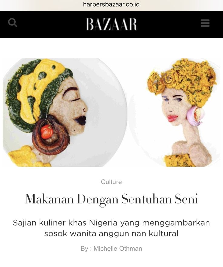 article for Harper's Bazaar website