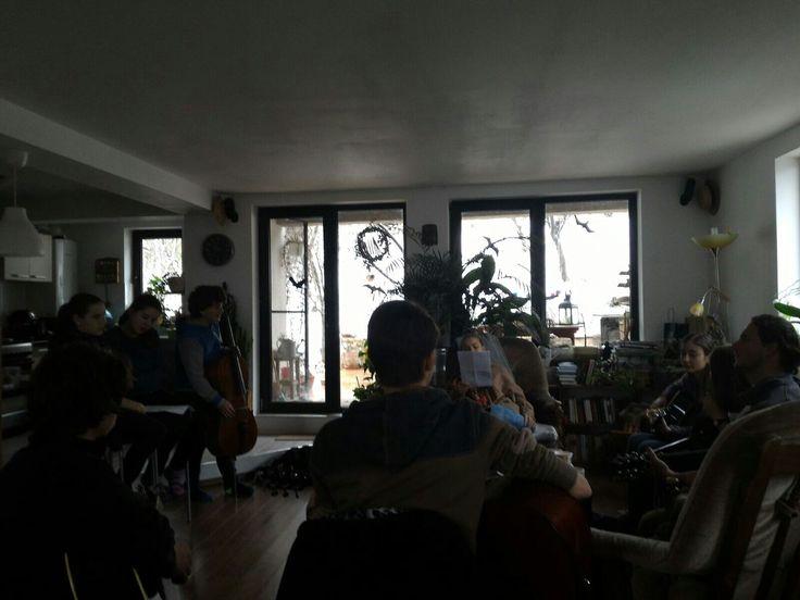 Pannánál-Készülünk az előadásra <3