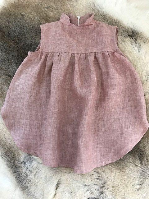 Poppy Dress-girls high neck twirly dress sewing inspiration
