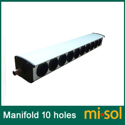 manifold (10 holes, diameter: 58mm) for solar collector, for solar water heater #Affiliate
