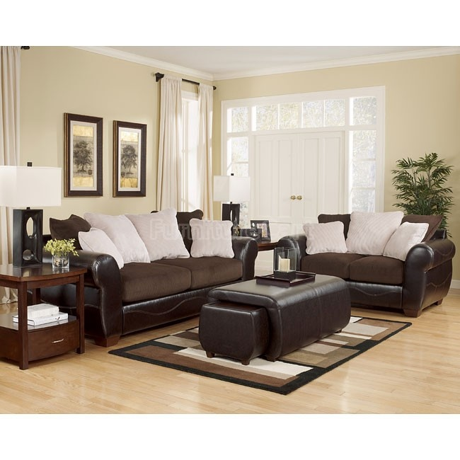 Voltage   Chocolate Living Room Set