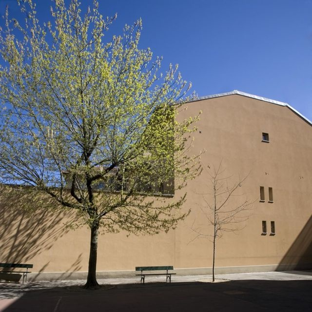 Palazzo MInerva. Vista esterna del fabbricato. Canuto Costruzioni