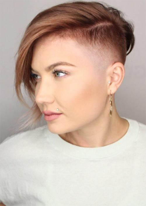 51 Edgy And Rad Short Undercut Hairstyles For Women Glowsly Short Hair Undercut Undercut Hairstyles Short Hair Styles For Round Faces